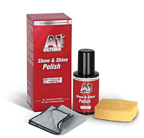 a1 ultima show shine polish 250 ml 2650 - A1 ULTIMA Show & Shine Polish, 250 ml (#2650)